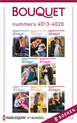 Bouquet e-bundel nummers 4013 - 4020 (e-Book)